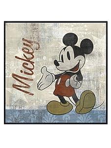 "Vintage Mickey, 16"" x 16"""