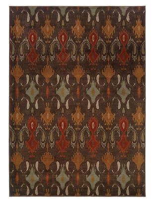 Granville Rugs Alhambra Rug (Brown/Copper/Multi)