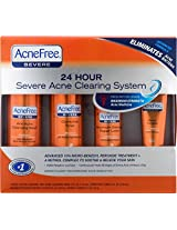 Acnefree 24 Hour Severe Acne Clearing System - 4 Count, 1 Pack