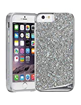 Case-Mate Cell Phone Case for iPhone 6 Plus/6s Plus - Retail Packaging - Diamond/Silver