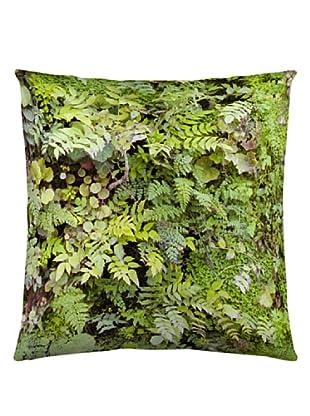 Naturals Cojín con Relleno Plantas (Verde)