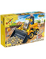 BanBao Wheel Loader Building Set
