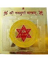 HD Sharma Gold Plated Shree Nava Durga Yantram