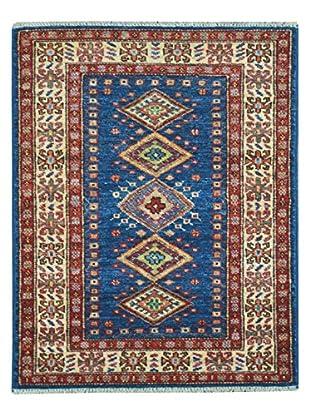 Kalaty One-of-a-Kind Kazak Rug, Multi/Blue, 2' x 2' 10