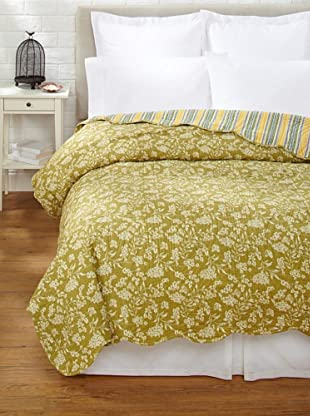 Toile Quilt (Green)