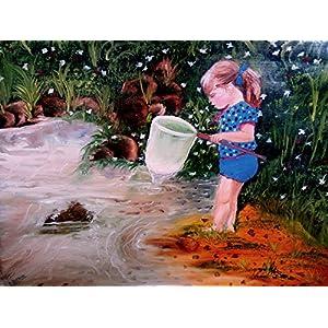 NUCreations Innocence - Original Painting - Oil Paint On Canvas
