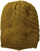 D&Y Women's Knit Studded Beanie