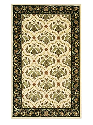 Chandra Bliss Rug (Cream/Green)