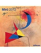 2012 Joan Miro Grid Calendar