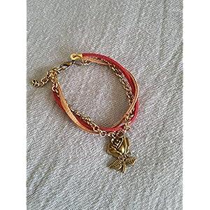 Knickknack Rose Love Charmed Bracelet