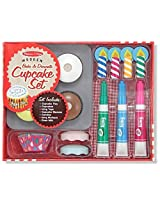 Bake and Decorate Cupcake Set - Play Food Set [40198]