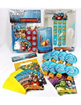 Avengers Birthday Party Kit, With Invitations, Thank You Cards, Blowouts. Treat Bags. Banner, Candle Holder And Party Favors