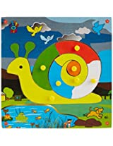 Skillofun Theme Puzzle Standard Snail Knobs, Multi Color