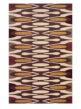 Momeni Art Deco Collection Rug (Cocoa)