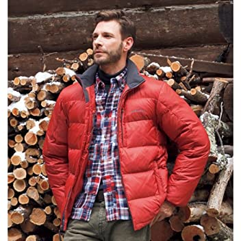 Classic Down Jacket 678870: Redwood