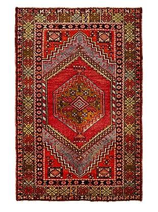 Rug Art Ltd. Vintage Anatolian Carpet, Red/Multi, 3' 10