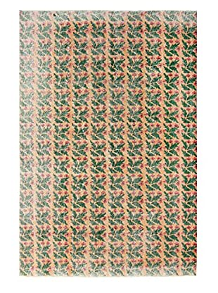 nuLOOM One-of-a-Kind Hand-Knotted Vintage Turkish Overdyed Rug, Green, 6' 8