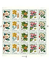 1998 Flowering Trees #3197a Pane Of 20 X 32 Cents Us Postage Stamps
