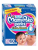MamyPoko XL Size Pants (60 Count)
