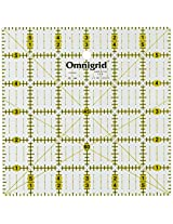 Omnigrid 6-Inch by 6-Inch Quilter's Square