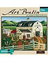 Art Poulin Jodis Antiques Barn 1000 Piece Jigsaw Puzzle By Buffalo Games