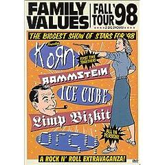【クリックでお店のこの商品のページへ】Family Values Tour 98 [DVD] [Import] (1998)