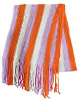 Dollsofindia Womens Wool Scarves -Multicolor -Free Size
