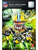 Masterpieces Clay Matthews Green Bay Packers Jigsaw Puzzle