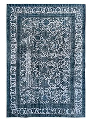 Kalaty One-of-a-Kind Pak Vintage Rug, Grey/Blue, 7' 5