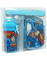 Superman Water Bottle, Lunch Box, Pencil Box set