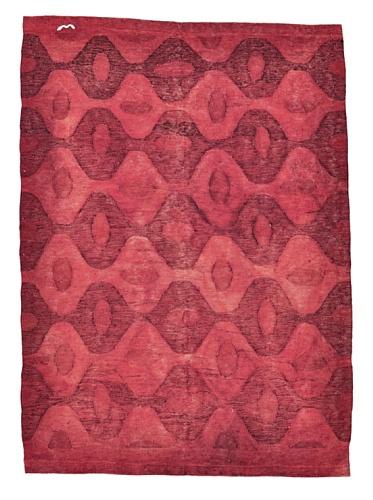 NuLOOM One Of a Kind Anatolian Turkish Kilim Rug (Red)