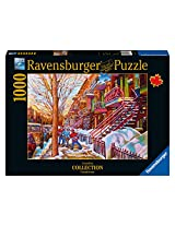 Ravensburger Street Hockey Canadian Collection Canadienne Puzzle (1000-Piece)
