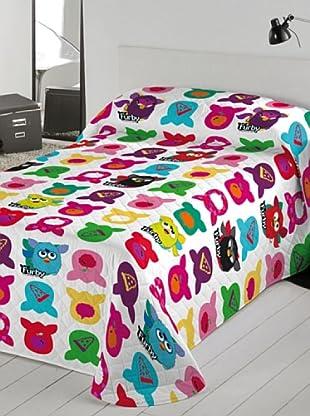 Euromoda Colcha Bouti Furby Doo Doo (Multicolor)