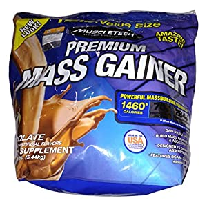 Muscletech Premium Mass Gainer - 12.0 lbs 5.44kg (Chocolate)