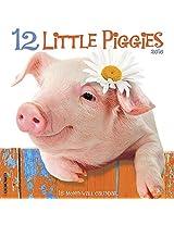 12 Little Piggies 2016 Calendar