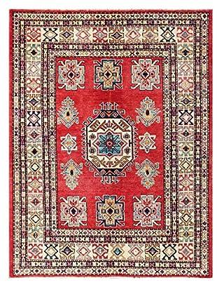 Bashian Rugs Hand Knotted Pak Kazak, Red, 4' 1