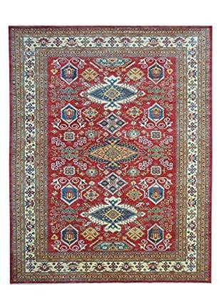 Kalaty One-of-a-Kind Kazak Rug, Red, 9' 1