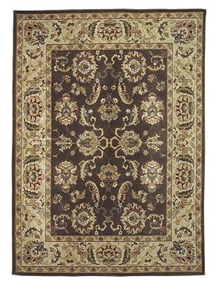 Kabir Handwoven Rugs Wonders Select Rug, Brown Multi, 5' 3