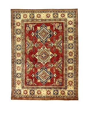 L'Eden del Tappeto Teppich Uzebekistan rot/beige 206t x t296 cm