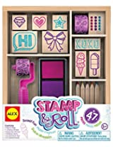 ALEX Toys Stamp and Roll Sweet Fun Stamp Set