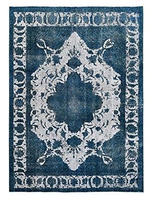 Kalaty One-of-a-Kind Pak Vintage Rug, Gray/Blue, 7' 11