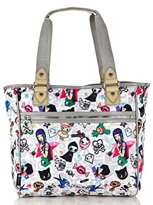 Tokidoki Shopping Bag Mondrian (Weiß)