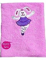 Ballerina Bath Towel - Pink