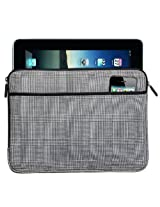 Broad Bay IPAD SLEEVE or TABLET SLEEVE Stylish Plaid Best Quality Best for Ipads, E-readers, Ipad 2, Kindle, Nook, Fire