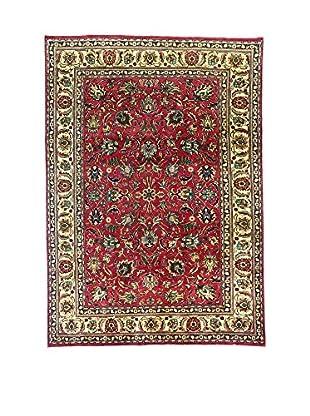 L'Eden del Tappeto Teppich M.Tabriz rot/elfenbein 207t x t290 cm