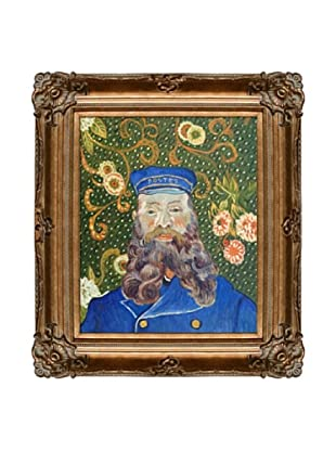 Vincent Van Gogh Portrait of the Postman Joseph Roulin Framed Oil Painting