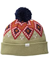 Coal Men's Geo Beanie, Khaki, One Size
