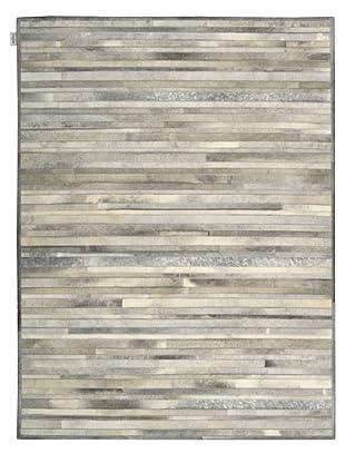 Calvin Klein Home Prairie Rug, Silver, 5' 6