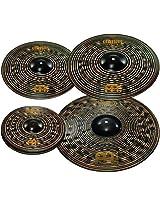 "Meinl Cymbals CCD460+18 Classics Custom Dark Pack Bonus Cymbal Box Set with FREE 18"" Dark Crash"