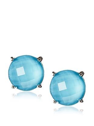 Anzie Quartz Classic Stud Earrings , Turquoise Quartz